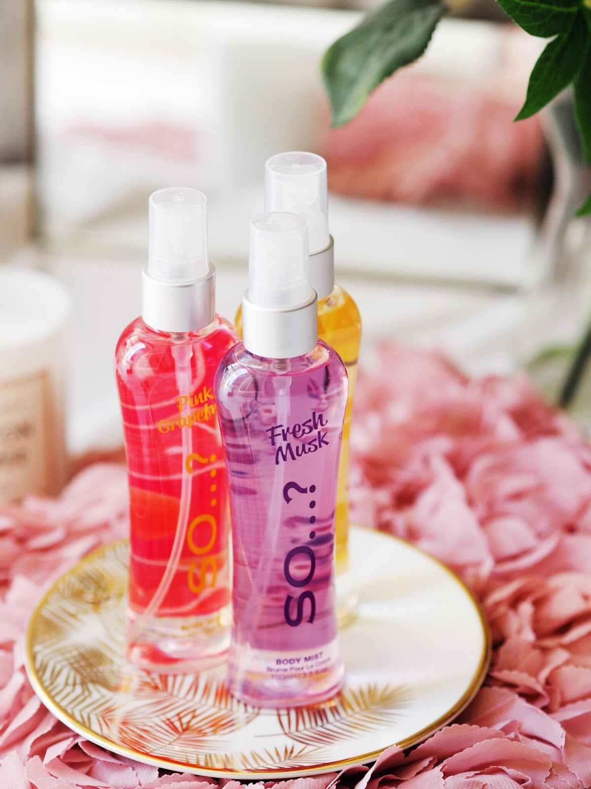 so...? summer fragrances body mists perfumes review