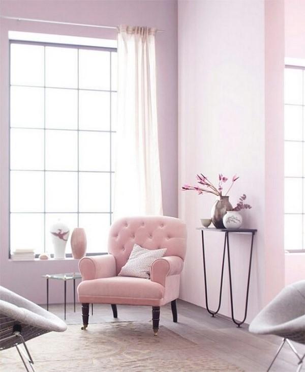 9 fotos de salas en rosa - Habitacion rosa palo ...