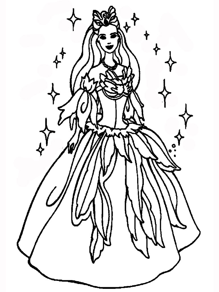 Free printable princess coloring pages free printable for Free princess coloring pages printable
