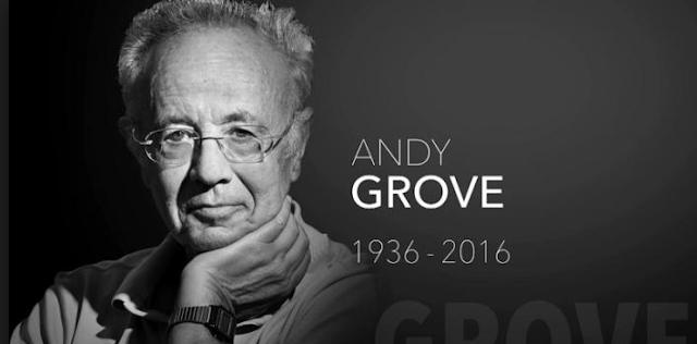 Andrew Grove Mantan CEO Intel Tutup Usia Akibat Mengidap Penyakit Parkinson