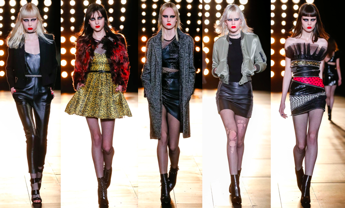 hedi slimane, ysl, runway, catwalk, fashion week, designer, rtw