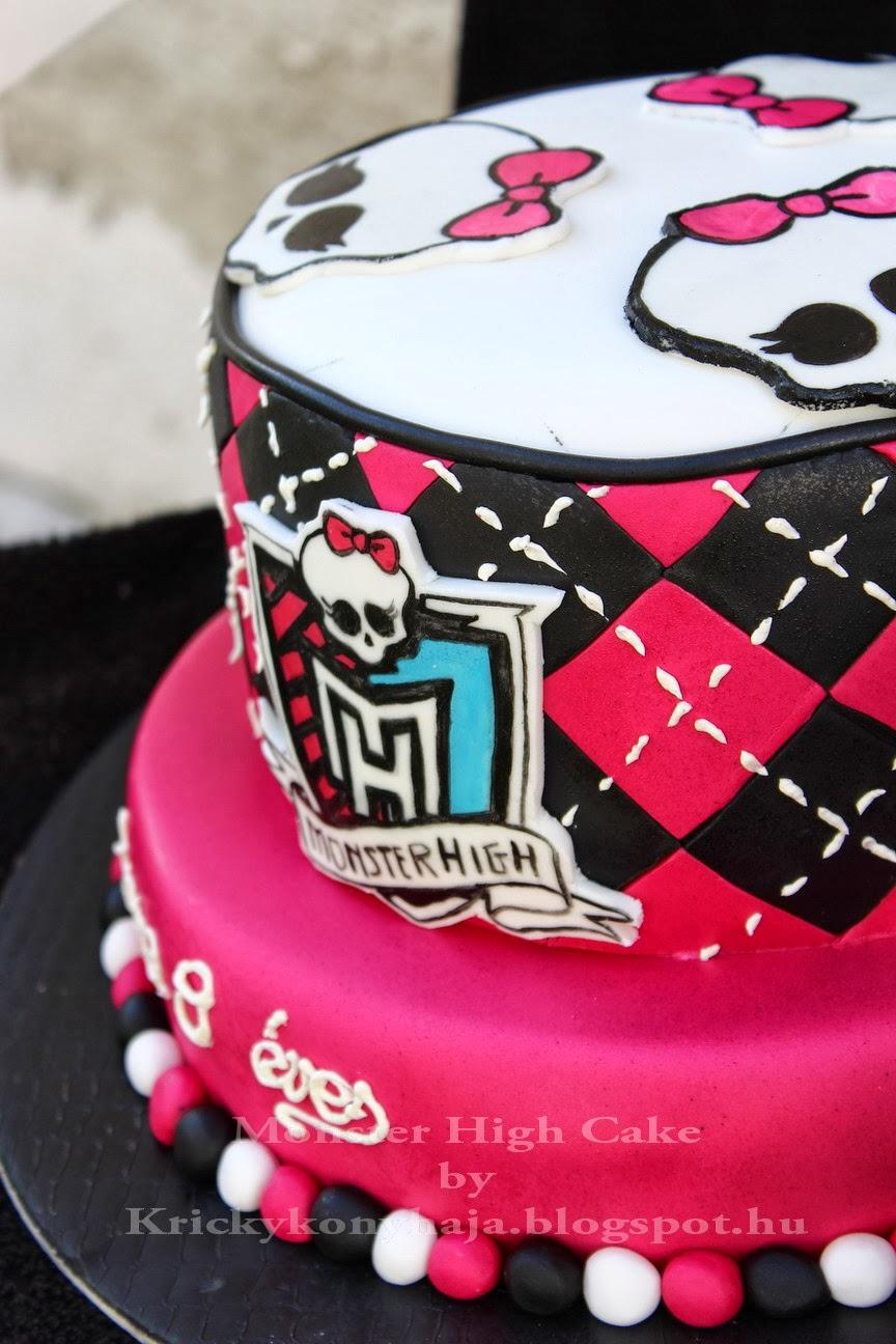 monster high torta képek Kricky konyhája: Monster High torta variáció monster high torta képek