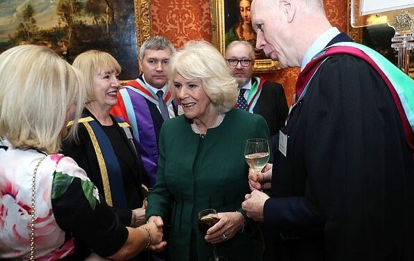 The Duchess of Cornwall met with Tyne Coast College before departure. Higher and Further Education for 2018-2020