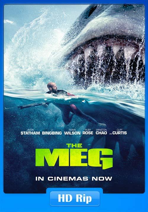 The Meg 2018 Hindi dubbed 720p HDRip x264   480p 300MB   100MB HEVC