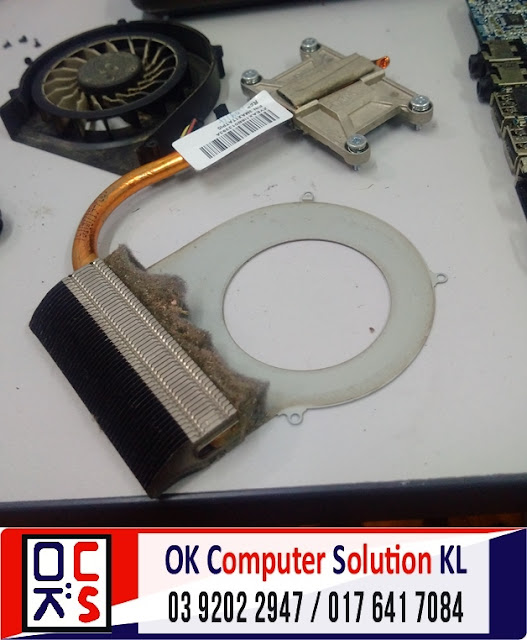 [SOLVED] SERVIS LAPTOP HP COMPAQ CQ42 | REPAIR LAPTOP CHERAS 6