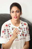 Lavanya Tripathi in Summer Style Spicy Short White Dress at her Interview  Exclusive 025.JPG