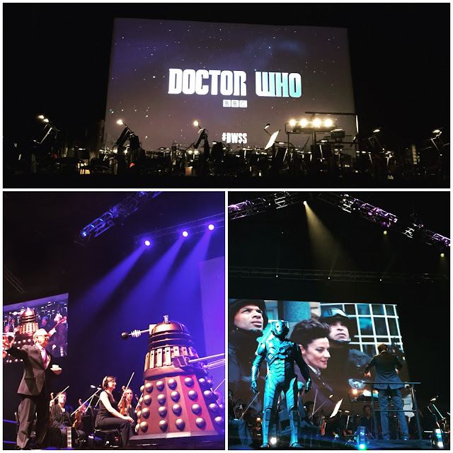 Doctor Who Symphonic Spectacular Leeds Arena 2015