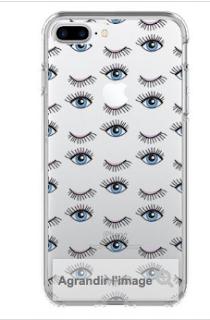 coque oeil pour i phone 7 plus