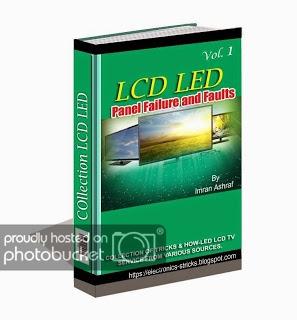 SIMARON : LCD TV REPAIR E-BOOK MANUAL GUIDE