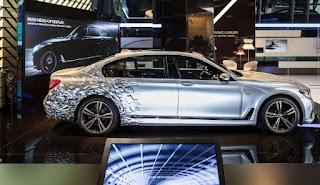 BMW 7 Series Visualisation