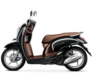 Harga Motor Honda Scoopy Fancy Black