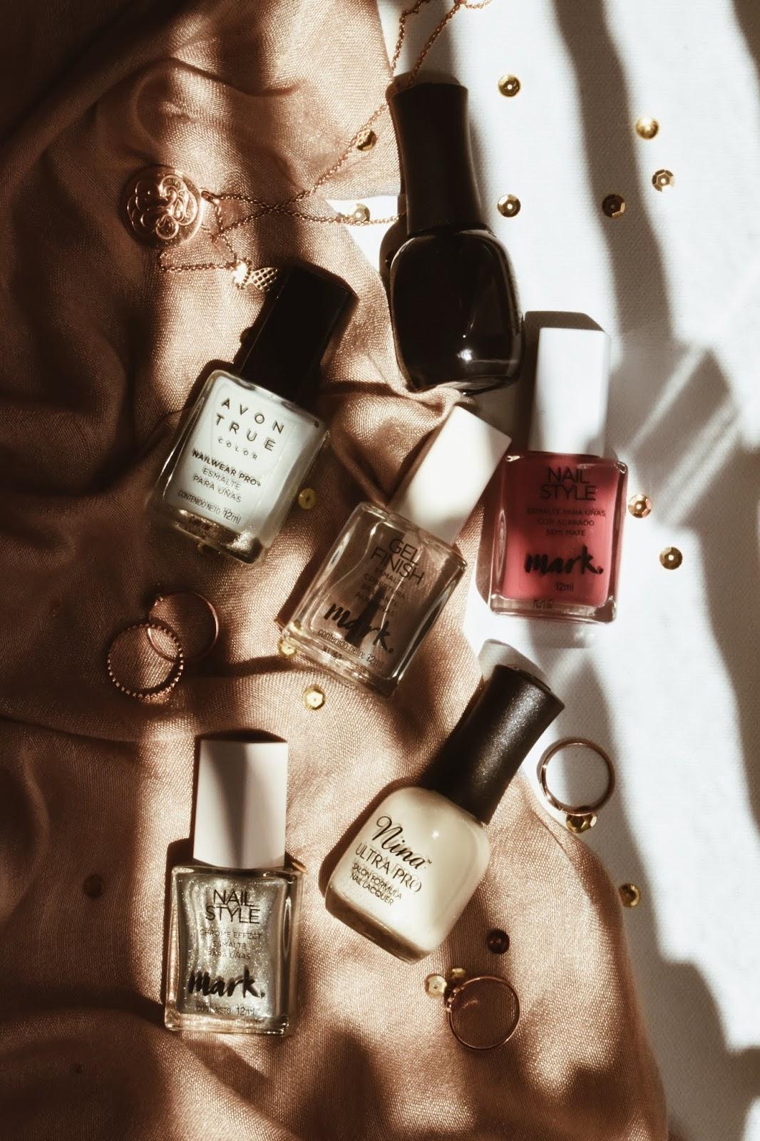 simple nail art esmalte sencillo decoracion de uñas facil rapida quick styles nails 1