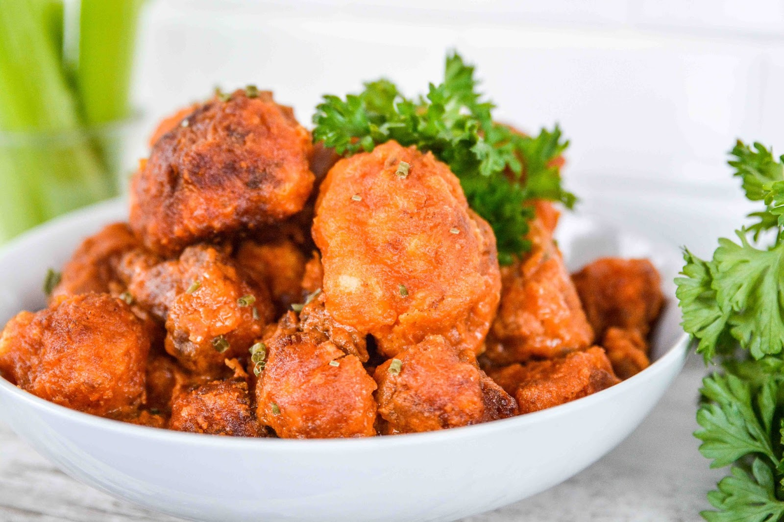 Bufflao Cauliflower Hot Wings