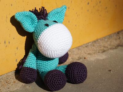 Crochet Knitting Stitch Esel Jojo