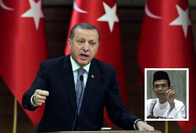 Selalu Tampil Bela Umat Islam, Siapa Erdogan Sebenarnya? Ini Ceramah Ustadz Abdul Somad