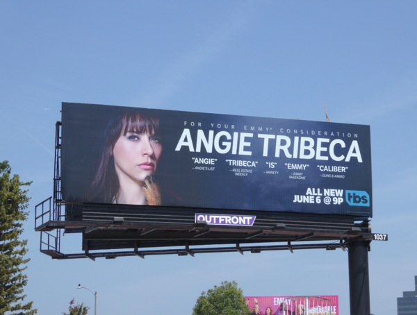 Angie Tribeca 2016 Emmy consideration billboard