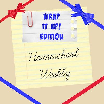 Homeschool Weekly - Wrap It Up! Edition on Homeschool Coffee Break @ kympossibleblog.blogspot.com