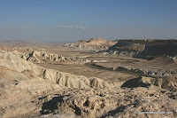 Israel Pictures: Ramon Crater (Makhtesh Ramon) the largest of the three Negev craters
