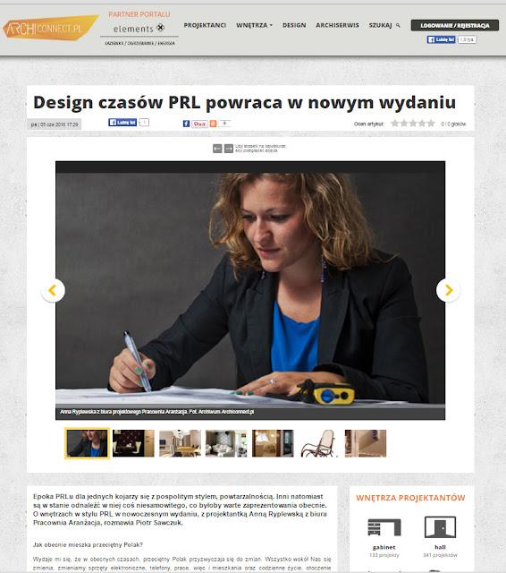 wywiad z Anną Ryplewską w archiconnect.pl