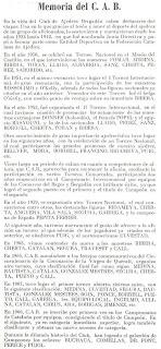 Memoria del Club Ajedrez Bergadán