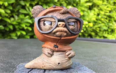 """Jabba the Wok"" GeekWok Star Wars Resin Figure by UME Toys"