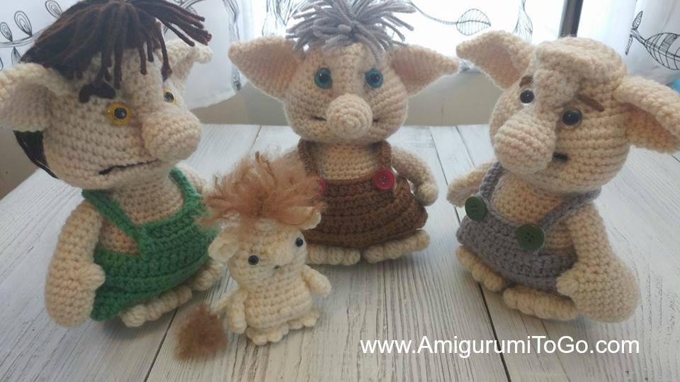 Spring Troll Amigurumi To Go New Trolls Crochet Pattern