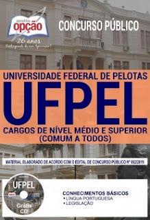 Baixar Apostila Concurso UFPEL 2019 PDF