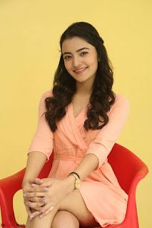 Rukshar Mir in a Peachy Deep Neck Short Dress 034.JPG
