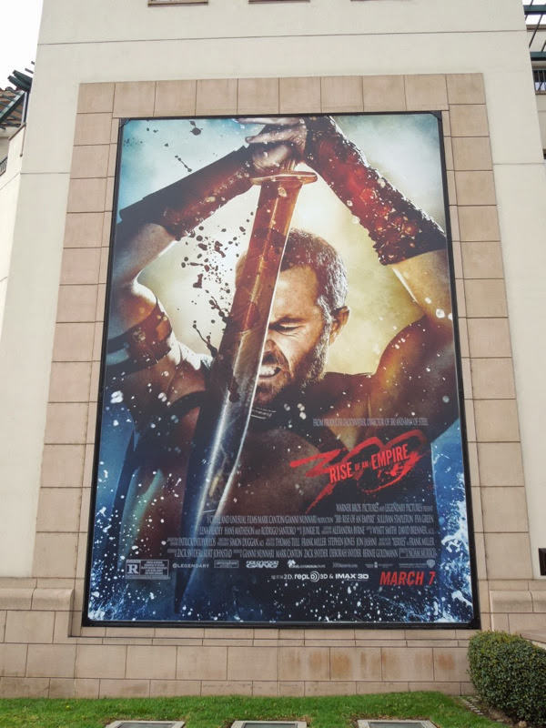 300 Rise of an Empire movie billboard