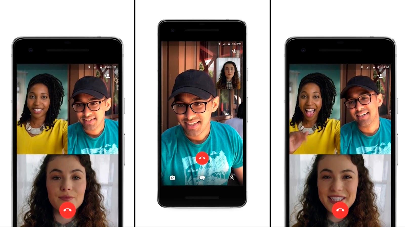 Ante el avance de Zoom, ahora Whatsapp permite videollamadas con 8 personas