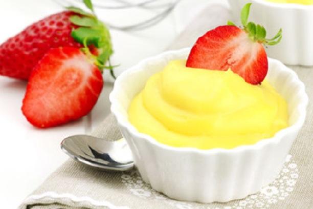 Crema de maizena con huevo
