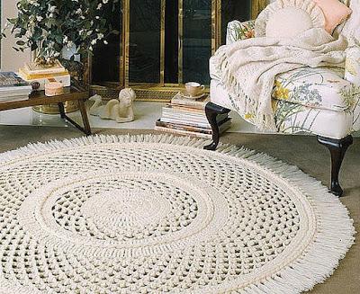 Tapetes de crochê como usá-lo em sua casa