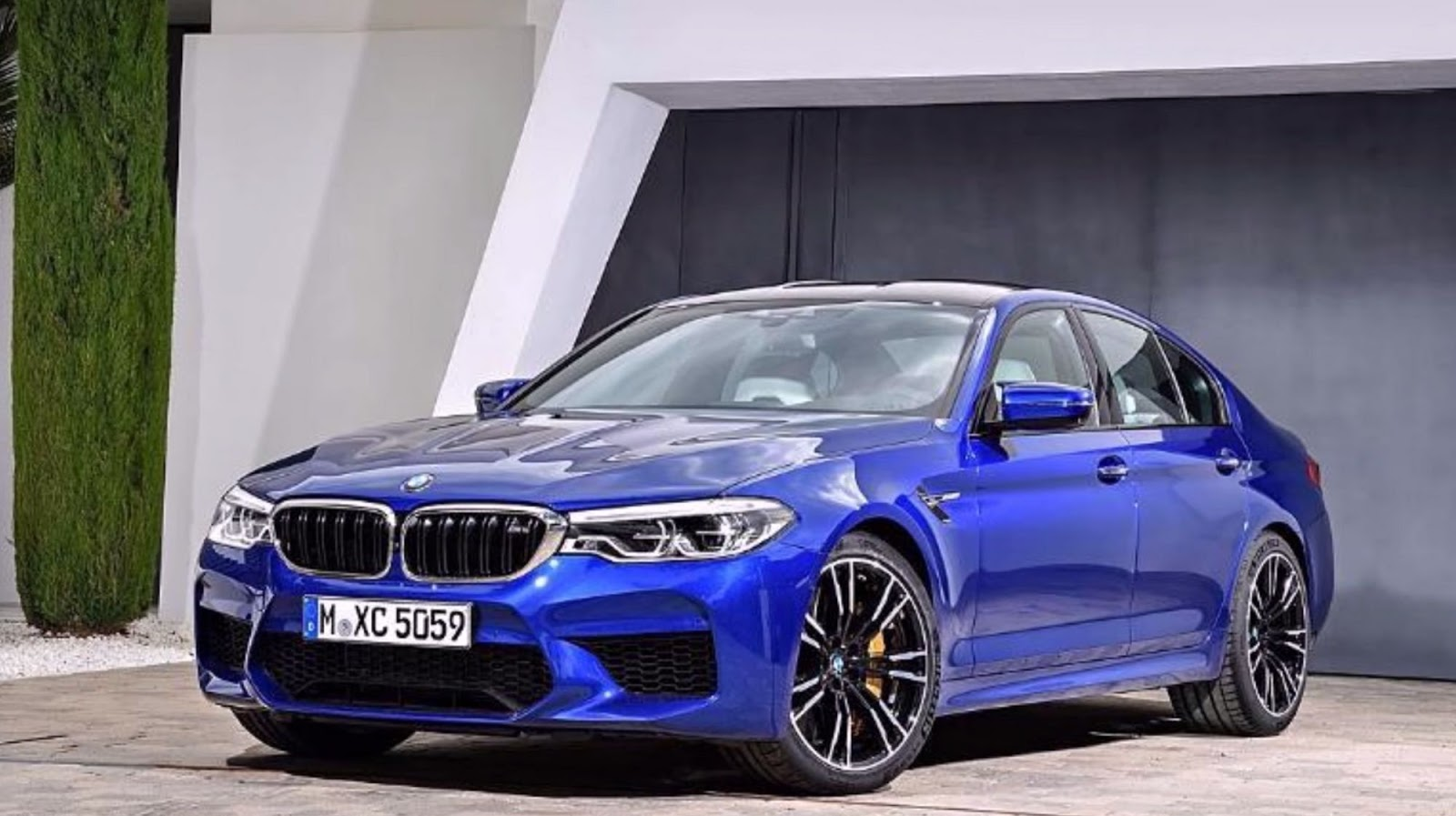 2018 bmw m5 leaks online before global premiere carscoops. Black Bedroom Furniture Sets. Home Design Ideas