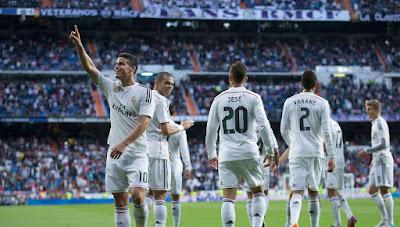 Real Madrid 10 Besar Rangking Klub UEFA 2014/15