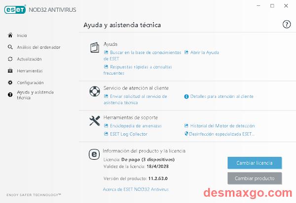 Download ESET NOD32 Antivirus 11 Code _ captura 3