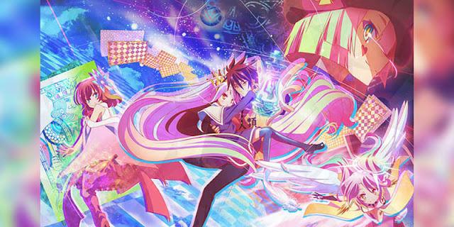 Rekomendasi Anime Game, Tentang Masuk Dunia Game No game no life terbaru