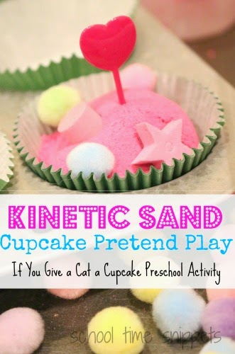 If You Give a Cat A Cupcake Preschool Theme