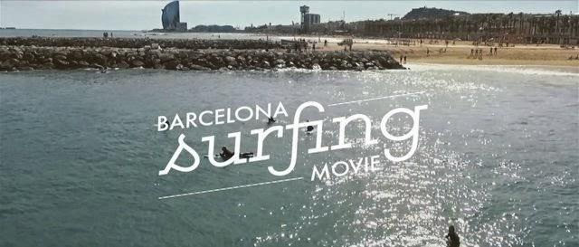 Barcelona Surfing Movie