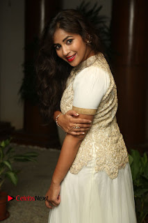 Komali Stills in White Long Dress at Nenu Seethadevi Audio Launch    ~ Bollywood and South Indian Cinema Actress Exclusive Picture Galleries