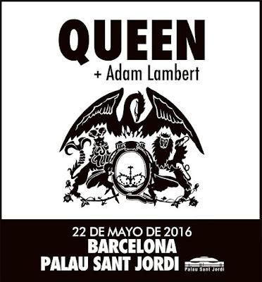 Queen + Adam Lambert - Barcelona (Palau St Jordi 2016)