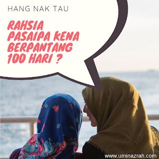 5 Tips dan Kebaikan Berpantang 100 Hari Untuk Ibu Bersalin