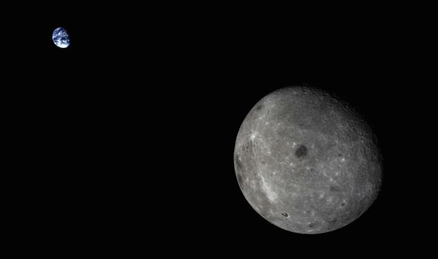 Tierra-vista-desde-la-luna-lado-oscuro-de-la-luna