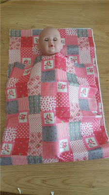 Doll sleeping bag tutorial