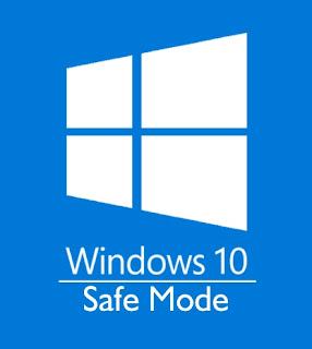 Cara Boot Windows 10 ke Safe Mode