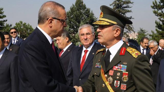 Ο Τούρκος στρατηγός Ακάρ έδωσε εντολή για άσκηση με πυρά στο Αιγαίο ευρισκόμενος στην Αθήνα!