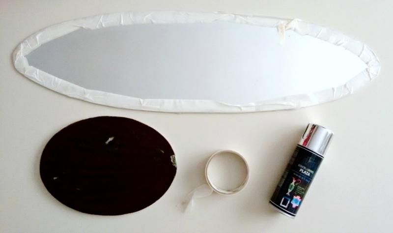 Cómo montar espejos vintage sin marco en la pared | hampton sc