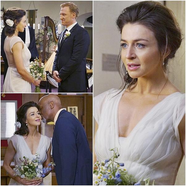 casamento Grey's Anatomy amelia owen
