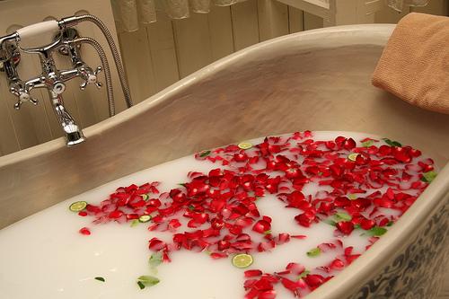 Natures Home Spa: Milk Bath Recipes: Luxury Spa-Baths at home!