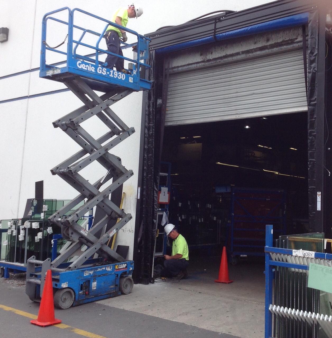 Dynaco Door Troubleshooting & Half Solid Aluminum Doors Abel