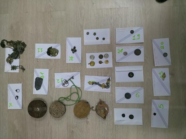 Θεσπρωτία: Δύο άτομα στη Θεσπρωτία κατηγορούνται για αρχαιοκαπηλία (εικόνες, νομίσματα)